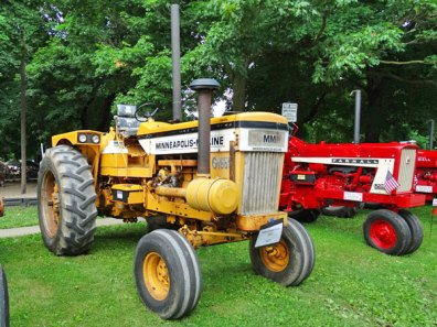 Tractor Show at Old Glory Days 2015