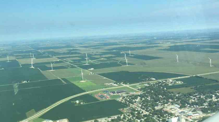 Windfarms - Around Topflight Grain 2017