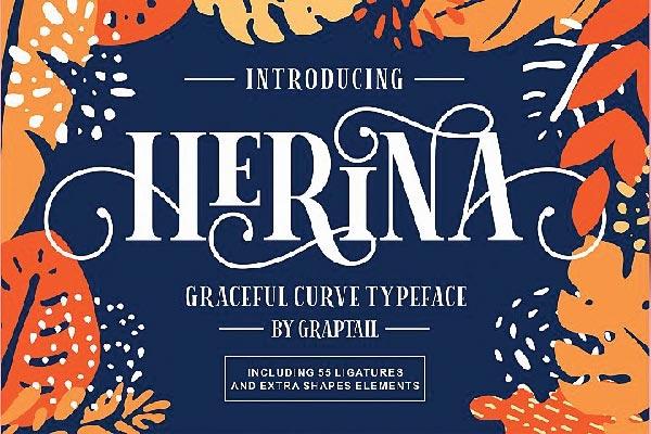 Free Herina Font