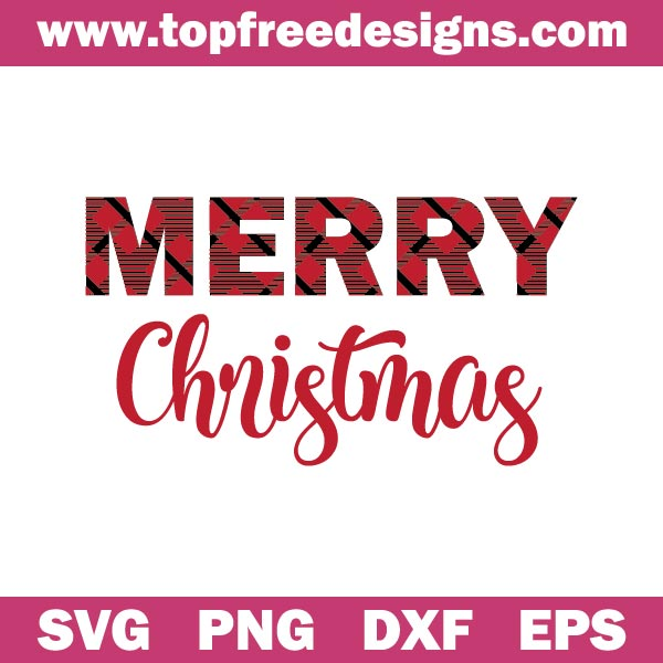 Merry Christmas svg file
