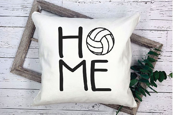 Free Volleyball Home svg file