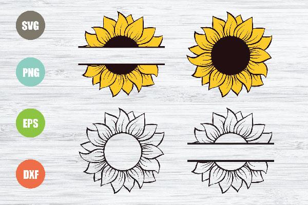 Sunflowers svg files