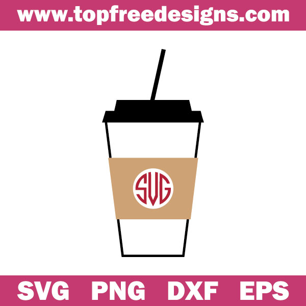 Free Coffee cup svg file