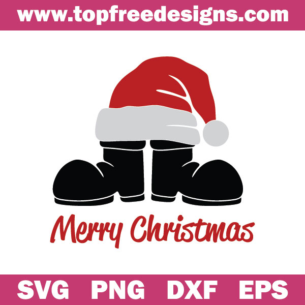 Free Merry Christmas svg file