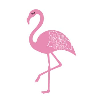 flamingo svg free