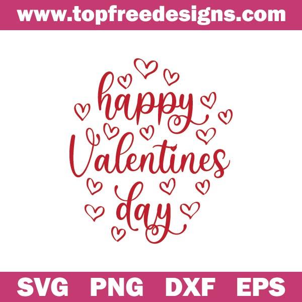 Happy Valentines Day svg free