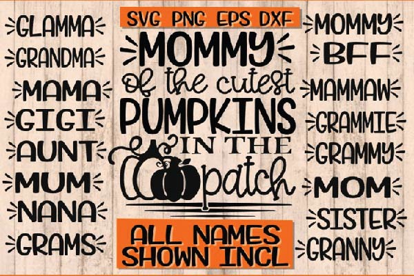 Cutest Pumpkins In The Patch svg