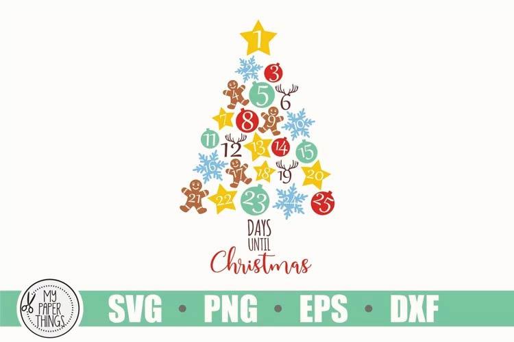 Christmas Svg, Countdown Svg free