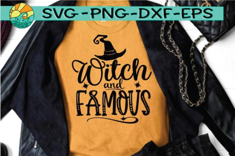 Witch And Famous svg free