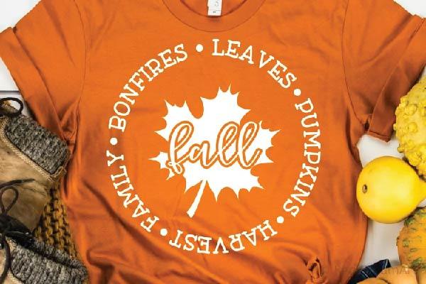 free Leaves Pumpkins Harvest Family Bonfires SVG