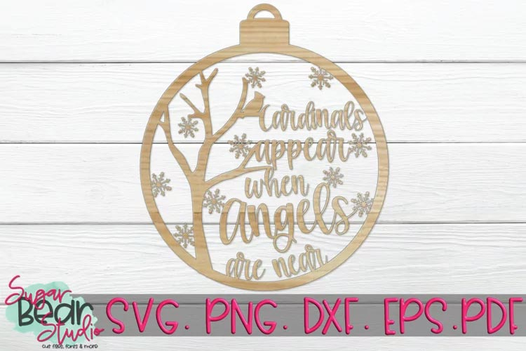 Cardinals Appear When Angels Are Near svg free