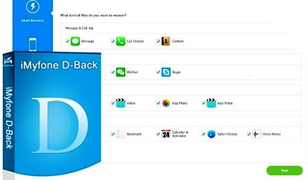 iMyFone D-Back 7.1.0.3 Crack With Registration Code {Win/Mac}