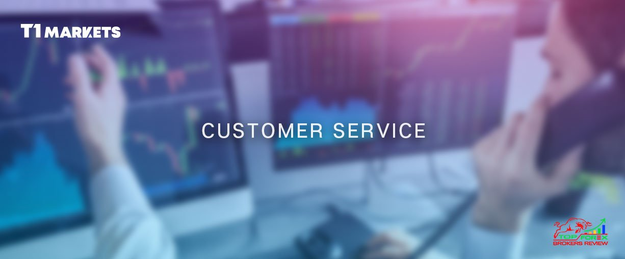 T1Markets customer Sercices