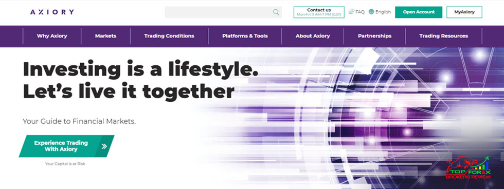 axiory launch exchange products account
