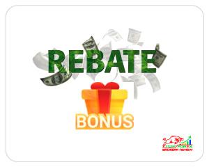 forex rebate bonus