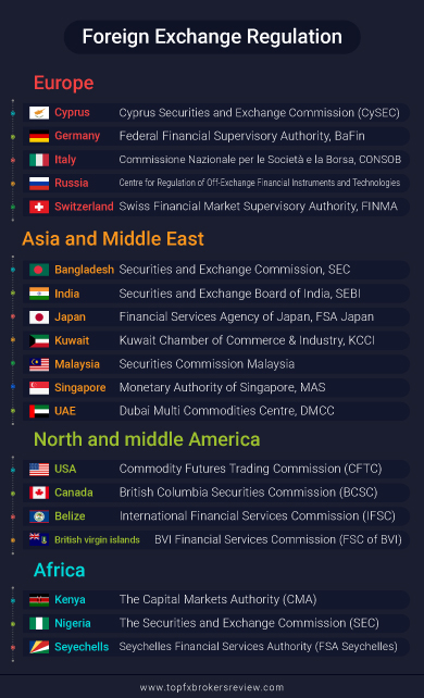 Foreign exchange regulation