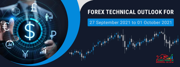 forex forecast & forex technical outlook for 27 september 2021 to 01 october 2021