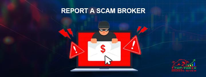report a scam broker