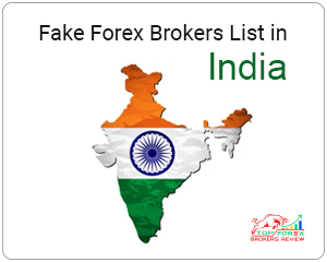 fake forex brokers list in india