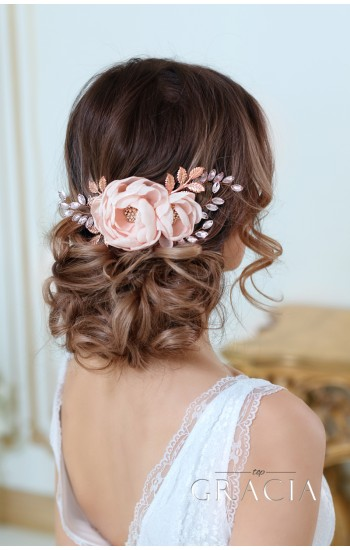 ALEXA Bridal Hair Comb Pearl Wedding Comb By TopGracia
