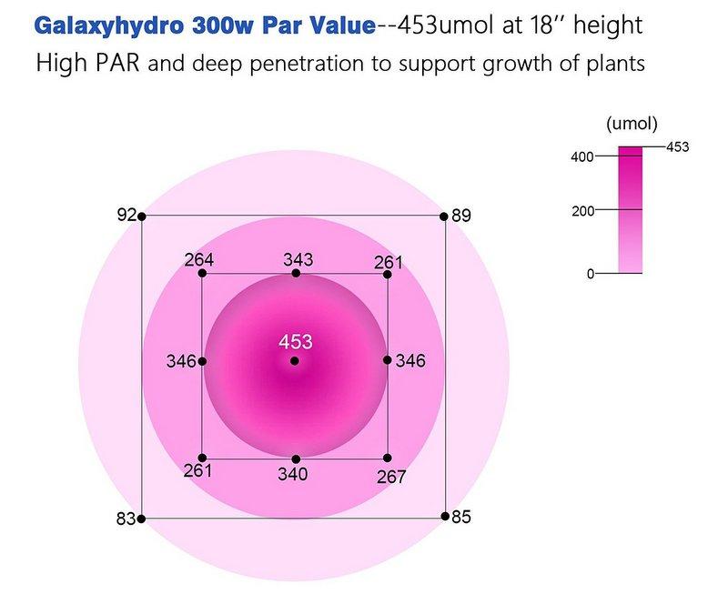 GalaxyHydro 300w par value