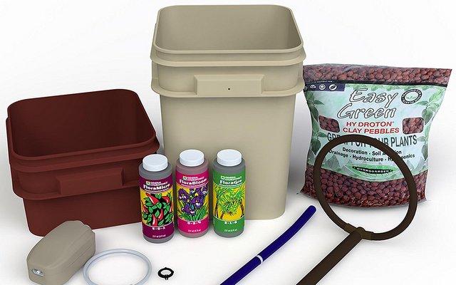General Hydroponics Waterfarm Best Hydroponic Grow Kit