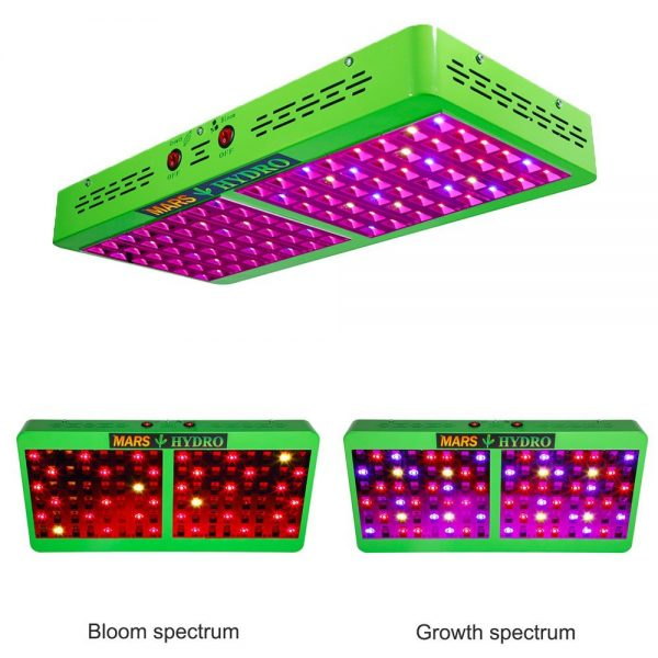 Marshydro Reflector 480W LED Grow Light Full Spectrum