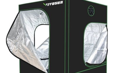 VivoSun Hydroponic Observation Window Grow Tent [Reviewed]