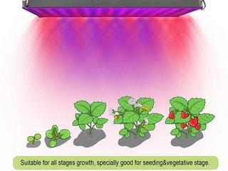 Roleadro Panel Grow Light Series