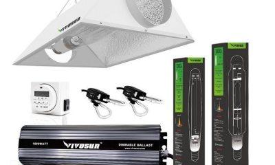 VIVOSUN 1000W HPS Grow Light Air Cooled Reflector Kit Reviewed