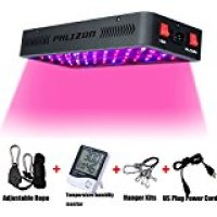 Phlizon Newest 600W LED Plant Grow Light