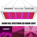 600W LED Grow Light, EnerEco Full Spectrum