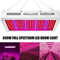 600W LED Grow Light, EnerEco Full Spectrum