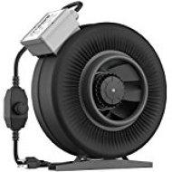 VIVOSUN 6 Inch 440 CFM Inline Duct Ventilation