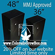 Colorado Grow Box - Stealth Hydroponic Grow box
