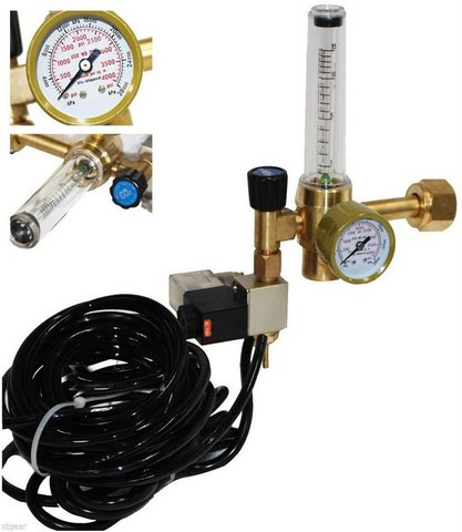 co2 regulator for hydroponic