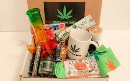Wake and Bake weed Box