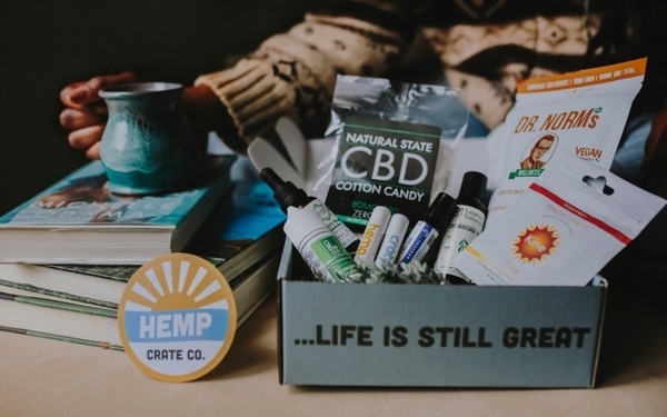 Hemp Crate Co Subscription box