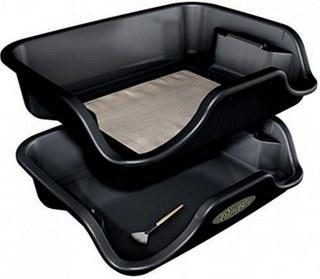 Trim Bin - Black Trimming Tray