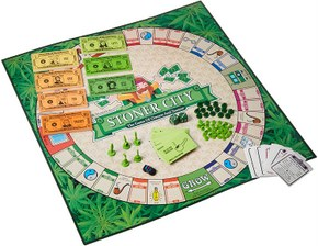 Stonerware Stoner City Board Game