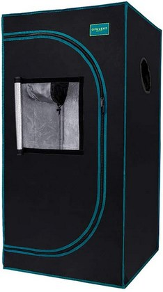 OPULENT SYSTEMS 2x2 grow tent