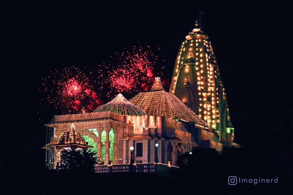Birla Temple On Diwali