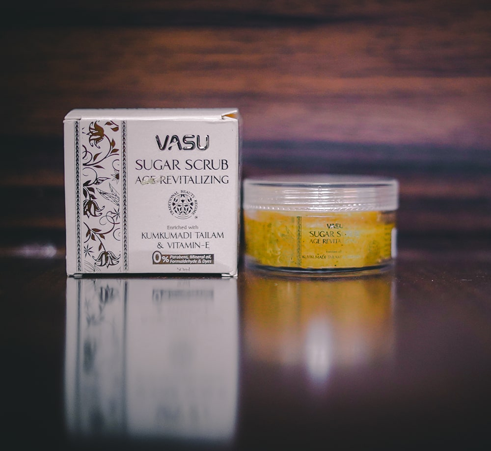 Best scrub for face- vasu Sugar Scrub