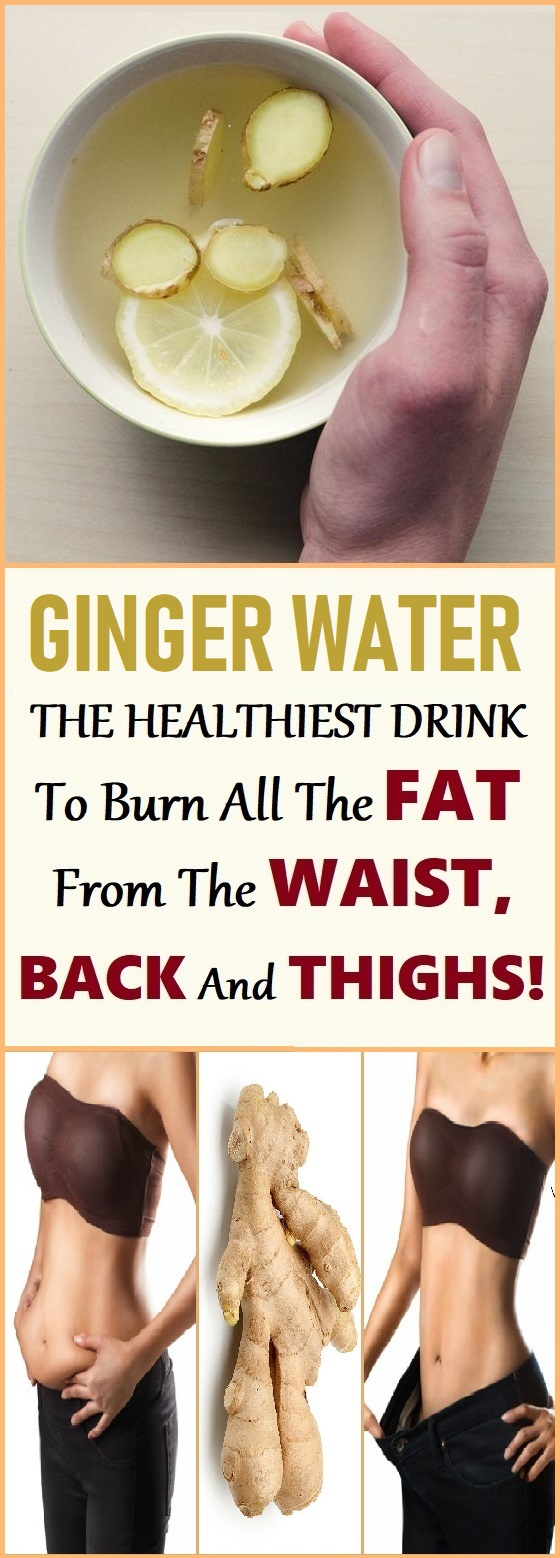 ginger water recipe for weight loss