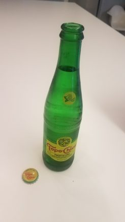 Topo Chico Lime is a wonderful drink.