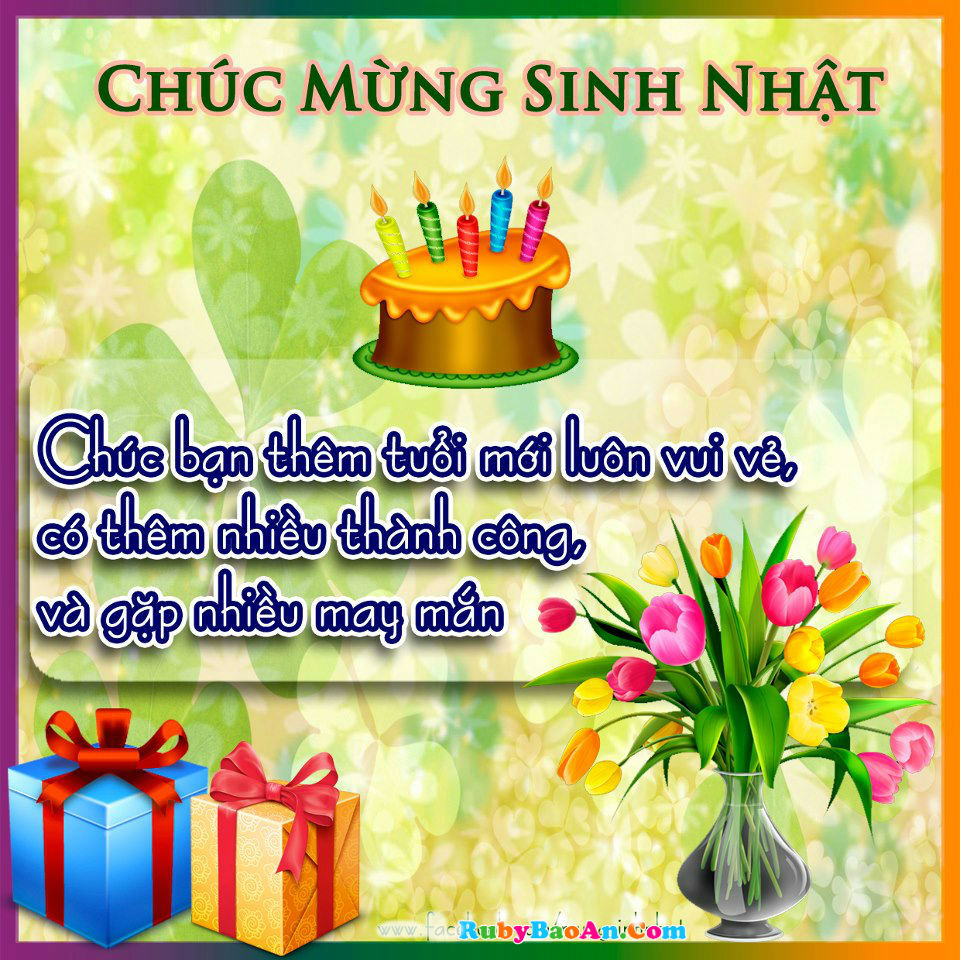 Top 50 tm thip mng sinh nht p v  ngha nht