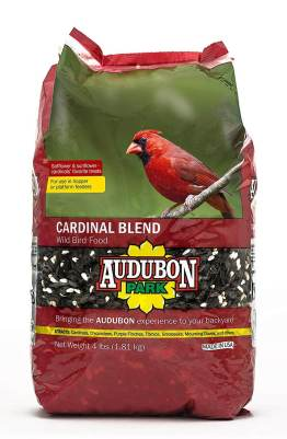 Audubon Park 12231 Cardinal Blend Wild Bird Food, 4-Pounds