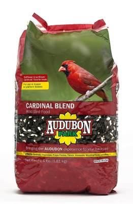 Audubon Park 12231 Cardinal Blend Wild Bird Food, 4-Pounds
