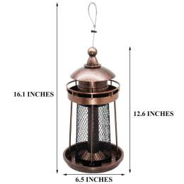 Twinkle Star Wild Bird Feeder Hanging for Garden Yard Outside Decoration