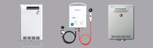 Propane gas tankless water heaters